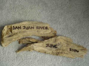 Custom engraving, driftwood engraving, custom wood work