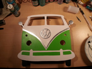 VW Bus Plaque, 3D plaque, custom volkswagon plaque