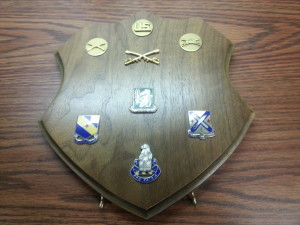medals plaque, military medals, custom plaque, solid walnut, wall plaque