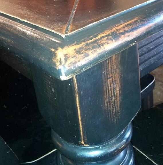Table Top U201cBeforeu201d Refinishing Furniture, Table Top Refurbish, Table Top  Restoration