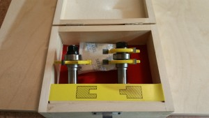Tongue and Groove Router Bits