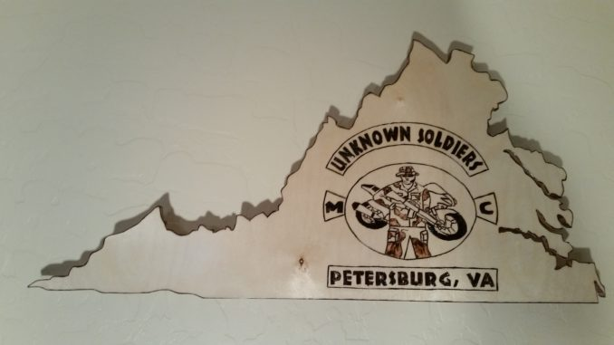 virginia veterans, custom wall plaque, virginia wall plaque, custom engraved wall plaque, veterans club, wall plaque