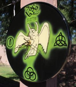 Led Zeppelin, Led Zeppelin Clock, custom clock, customized clock, custom woodwork, 3D clock, hand made clock, handcrafted clock