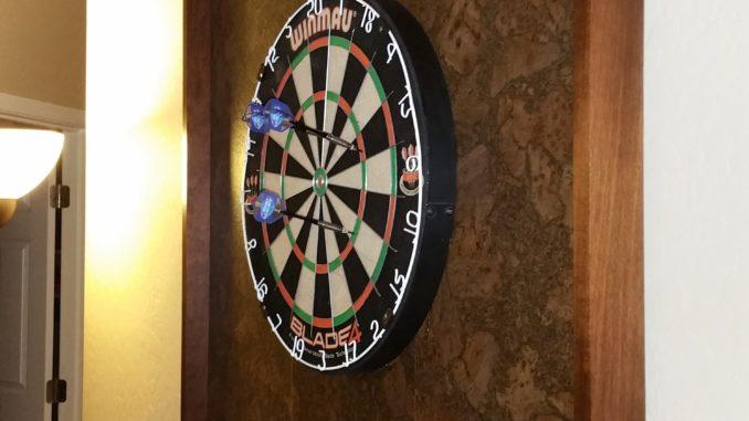 dart board frame, dart board backing board, custome backing board, custom dart board frame, dart board, darts, throwing darts, cricket, steel darts, steel dart board
