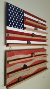 Flag Coin Rack