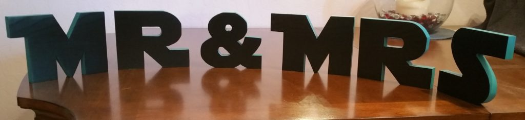custom wedding letters, star wars letters, custom cut letters, bride and groom, wedding decorations, star wars themed wedding
